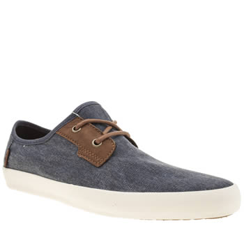 Mens Vans Blue Michoacan Trainers
