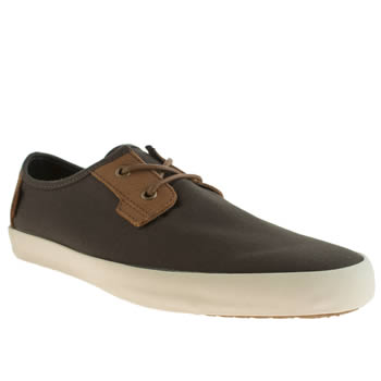 Mens Vans Dark Grey Michoacan Trainers