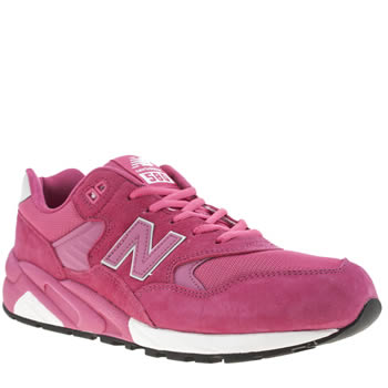 Mens New Balance Pink 580 Trainers
