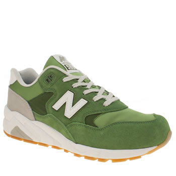 New Balance Green 580 Mens Trainers