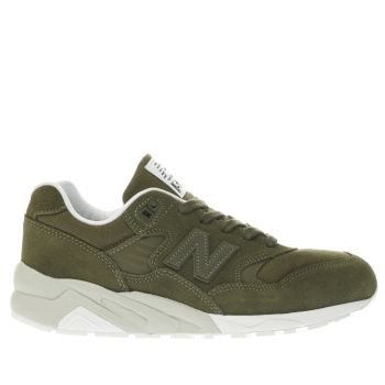 New Balance Khaki 580 Trainers