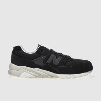 New Balance Black 580 Mens Trainers