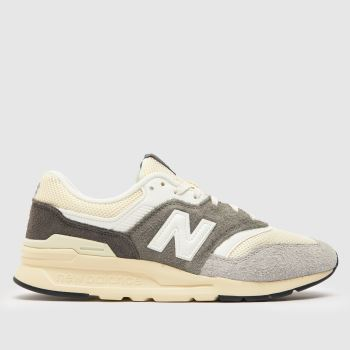 Mens New Balance Grey 580 Trainers