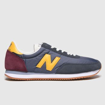 Mens New Balance Navy 710 Trainers