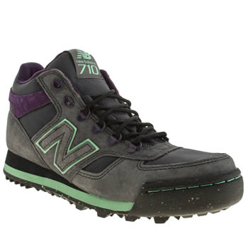 Mens New Balance Dark Grey 710 Trainers