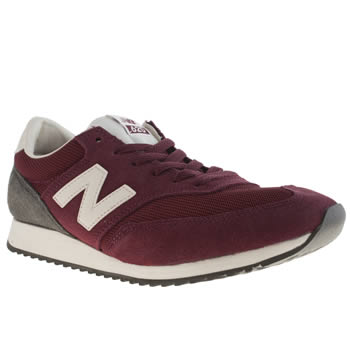 Mens New Balance Burgundy 620 Trainers
