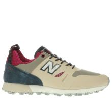 New Balance Beige & Navy Trailbuster Mens Trainers