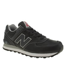 New Balance Navy 574 Mens Trainers