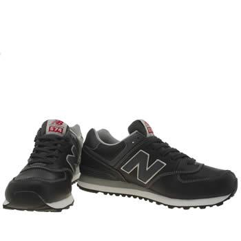 new balance leather 574 men