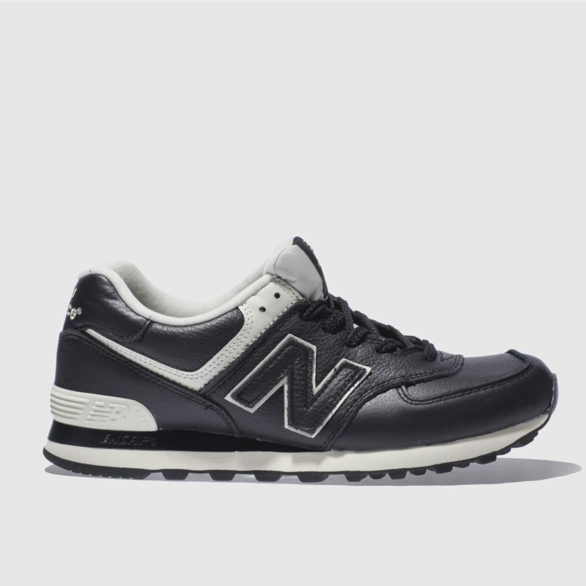 New Balance Black 574 Trainers