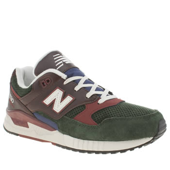 Mens New Balance Green 530 Trainers