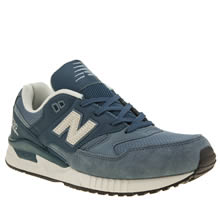 New Balance Blue 530 Mens Trainers