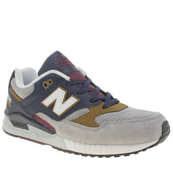 Mens New Balance Grey 530 Trainers