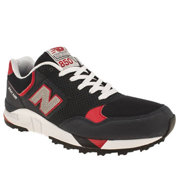 mens new balance navy & red 850 trainers