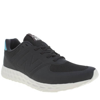 New Balance Navy & Pl Blue 574 Fresh Foam Trainers