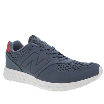 New Balance Navy 574 Fresh Foam Trainers