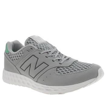New Balance Light Grey 574 Fresh Foam Trainers