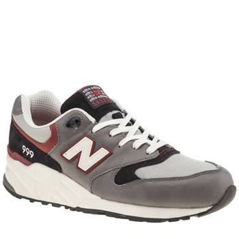 New Balance Grey & Navy 999 Trainers