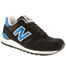 Black and blue New Balance 670