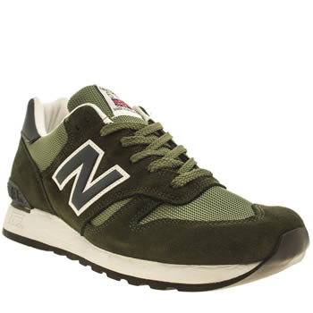 Mens New Balance Dark Green 670 Trainers