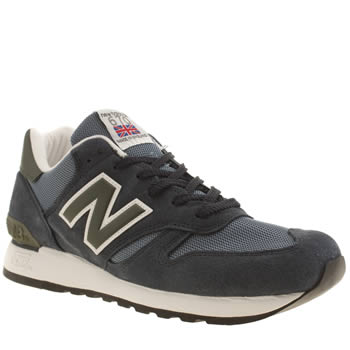 Mens New Balance Navy & Pl Blue 670 Trainers