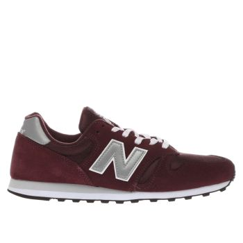 Mens New Balance Burgundy 373 Trainers
