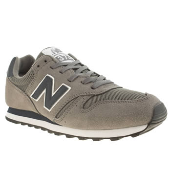 Mens New Balance Grey 373 Trainers