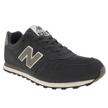 New Balance Navy & Grey 373 Trainers