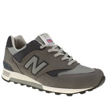Grey & Navy New Balance 577
