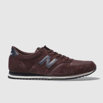 New Balance Burgundy 420 Mens Trainers