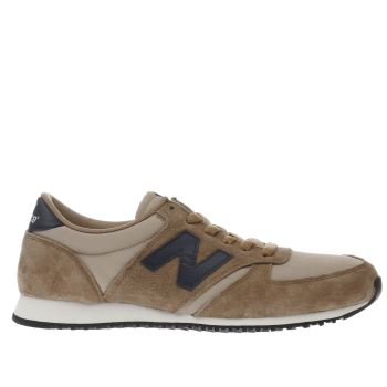 New Balance Tan 420 Mens Trainers
