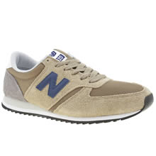 New Balance Beige 420 Mens Trainers