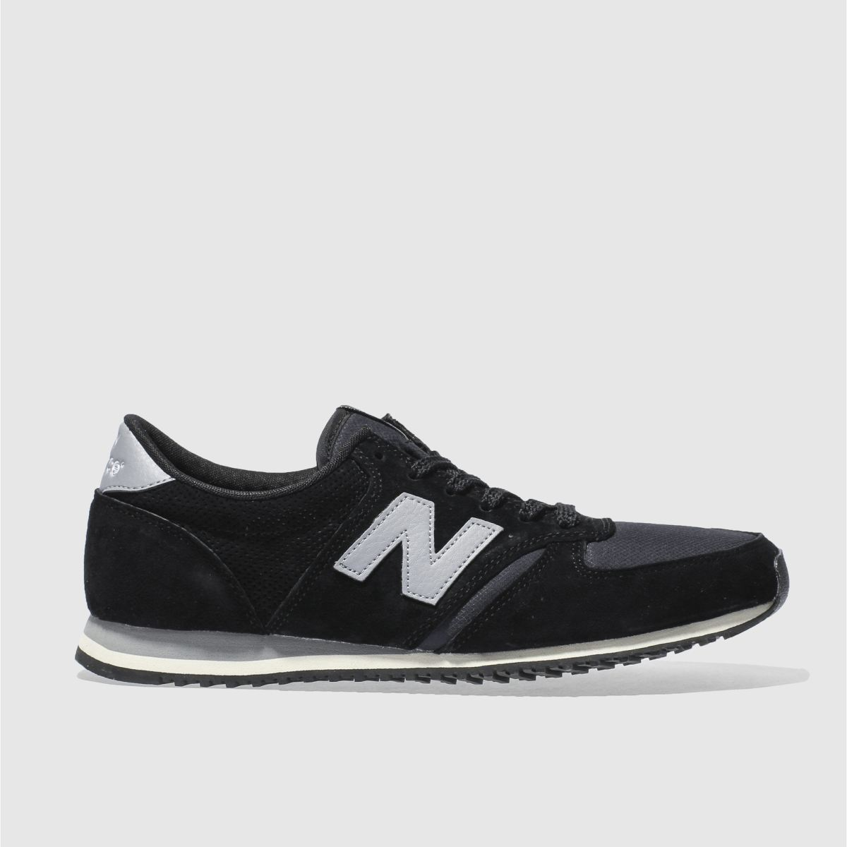 New Balance Black & Grey 420 Trainers