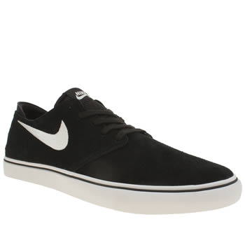 Nike Sb Black & White Zoom Oneshot Trainers