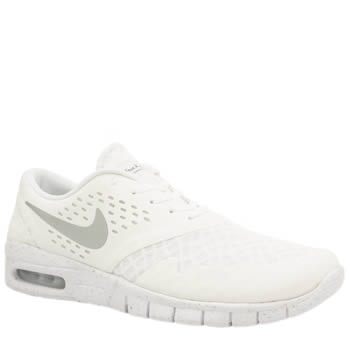 Mens Nike Skateboarding White Eric Koston 2 Max Trainers