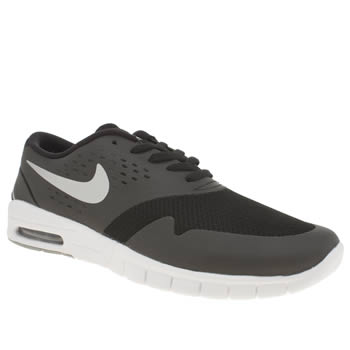 Mens Nike Skateboarding Black Eric Koston 2 Max Trainers