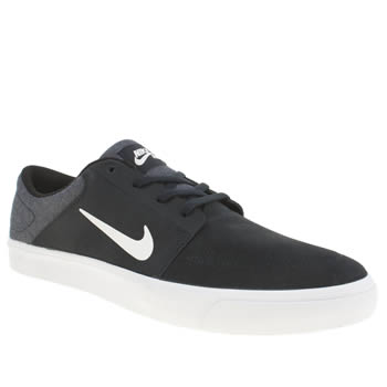 Nike Skateboarding Navy Portmore Trainers