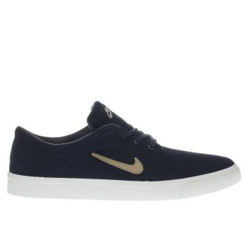 Nike Sb Navy Portmore Trainers