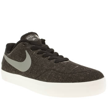 Mens Nike Skateboarding Black Paul Rodriguez Citadel Trainers