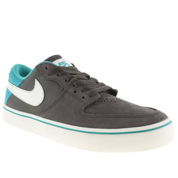 Mens Nike Skateboarding Dark Grey Paul Rodriguez 7 Vr Trainers