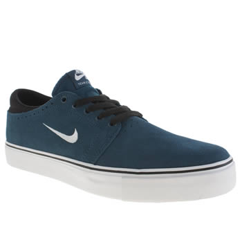 Mens Nike Skateboarding Navy Zoom Team Edition Trainers