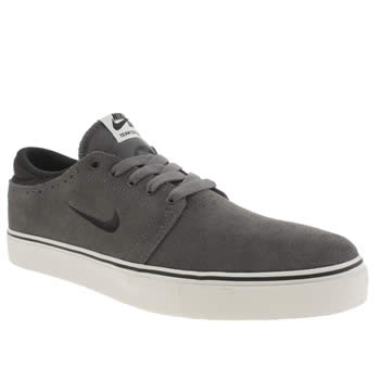 Mens Nike Skateboarding Dark Grey Team Edition Trainers
