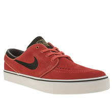 Nike Sb Red Zoom Stefan Janoski Mens Trainers