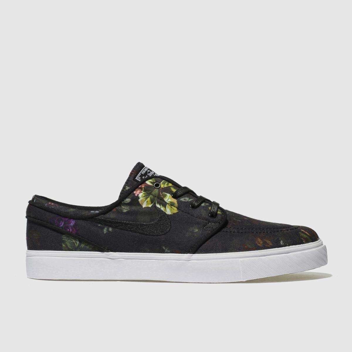 Nike Sb Black & Green Zoom Stefan Janoski Trainers