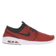Nike Sb Burnt Orange Stefan Janoski Max Trainers
