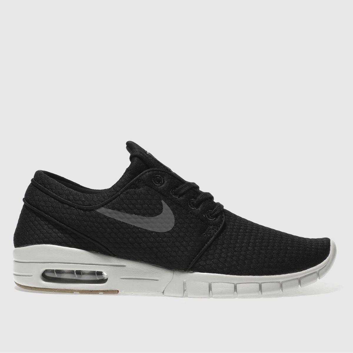 Nike SB Nike Sb Black & Grey Stefan Janoski Max Trainers