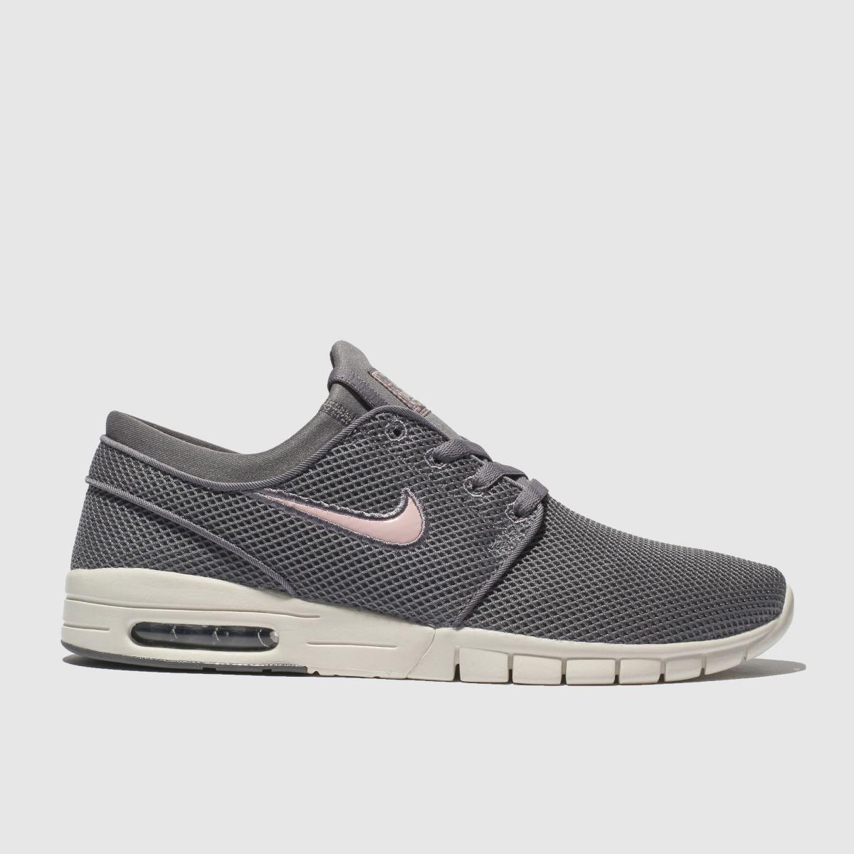 Nike Sb Dark Grey Stefan Janoski Max Trainers
