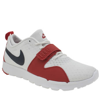 Nike Sb White & Red Trainerendor Trainers