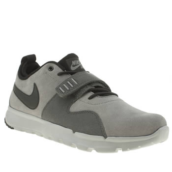 Mens Nike Sb Light Grey Trainerendor Trainers