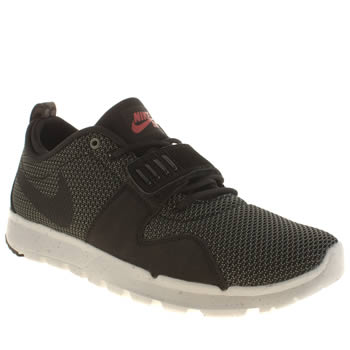 Mens Nike Skateboarding Dark Grey Trainerendor Trainers